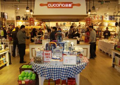 Cuccina-opening